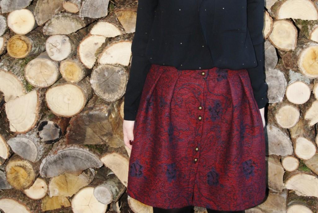 Huguette Paillettes - Couture - Jupe