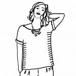 Huguette Paillettes - Tricot - Tuto - Pull Albertine