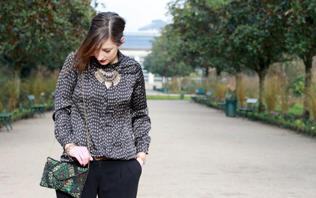 Huguette Paillettes - Couture - Chemise Margot