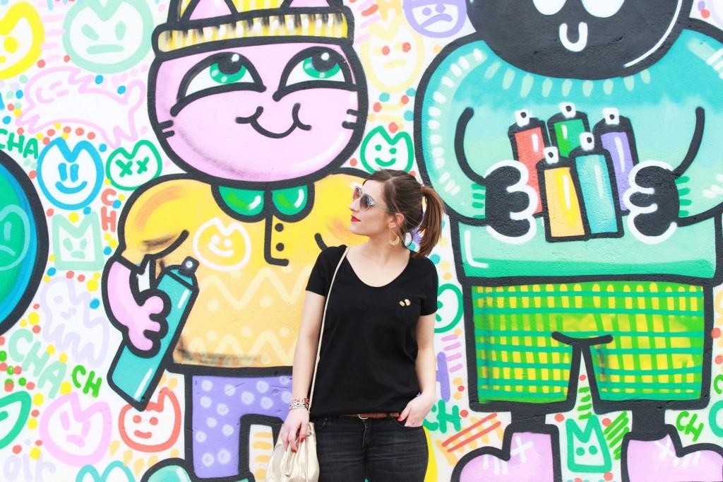 Huguette Paillettes - Couture - T-shirt funky