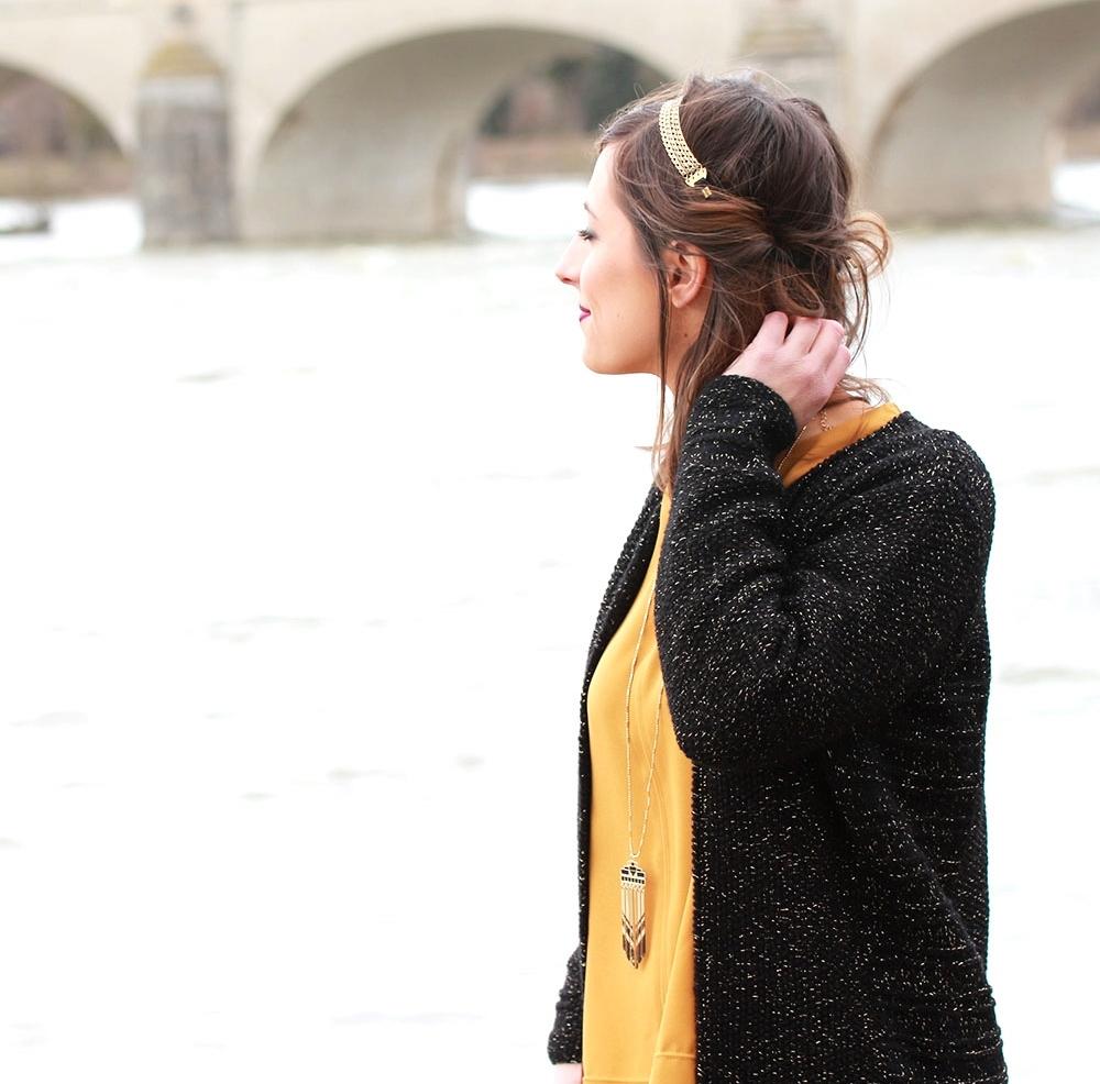 Huguette Paillettes - Tricot - Gilet Albertine (4)