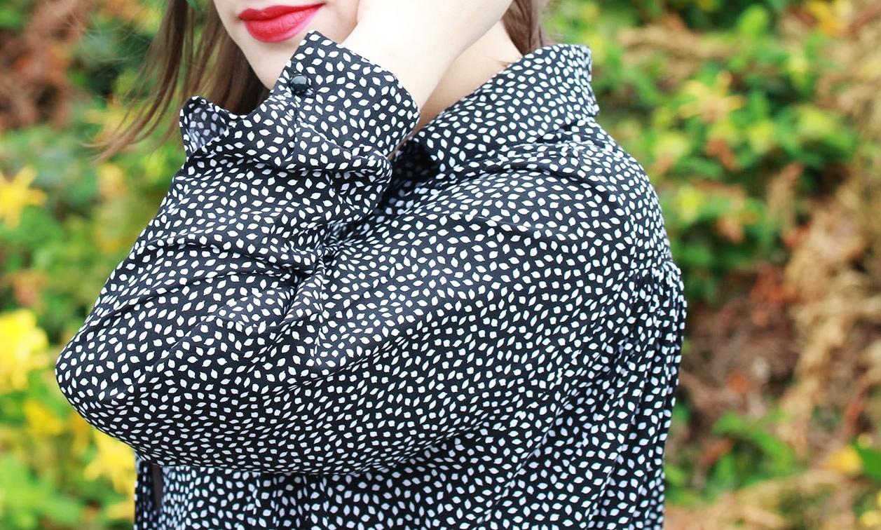 Huguette Paillettes - Couture - Chemise 3 cols LAP