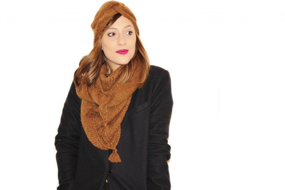 Huguette Paillettes - Tricot Tuto Châle - Trendy February
