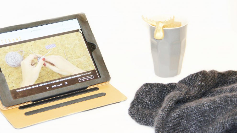 Huguette Paillettes - Tricot - Cours de tricot en ligne Artesane - Tricoter avec Lise Tailor