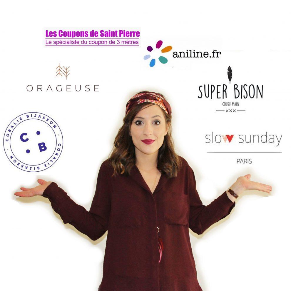 Huguette Paillettes - Blog créatif couture tricot DIY - Concours 10k Partenaires