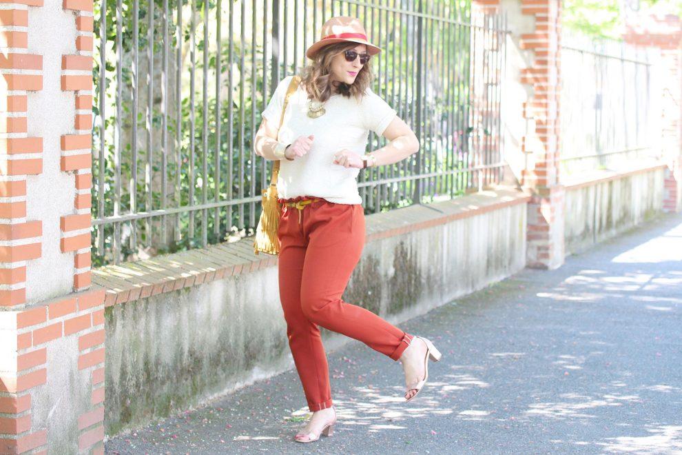 Huguette Paillettes - Tricot Tuto Pull Albertine - Couture Pantalon