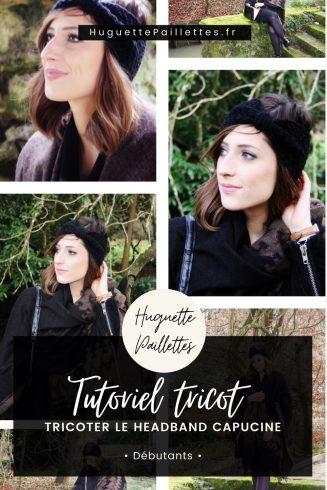 Epingle Pinterest Tutoriel tricot facile « Headband Capucine »