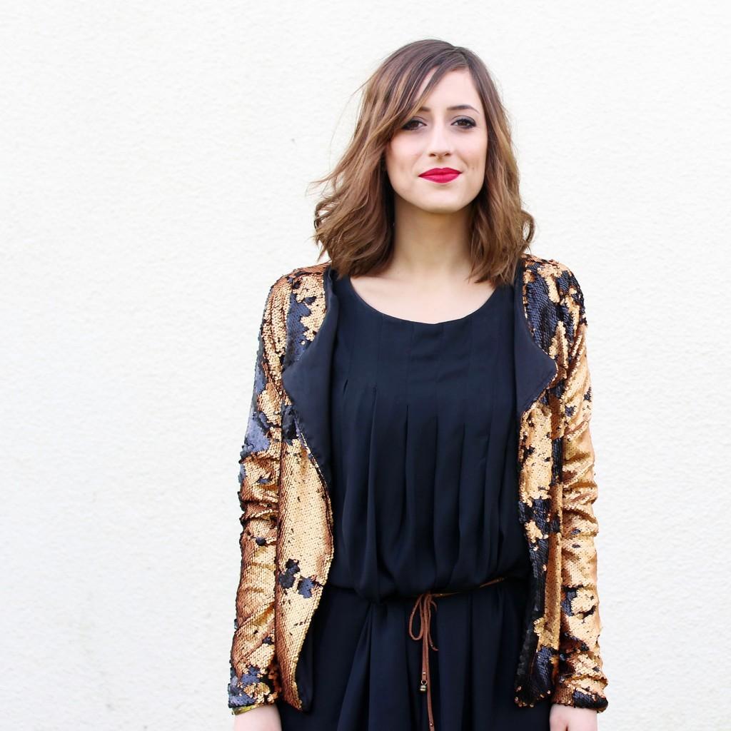 Huguette Paillettes - Couture - Veste - Sequins (6)