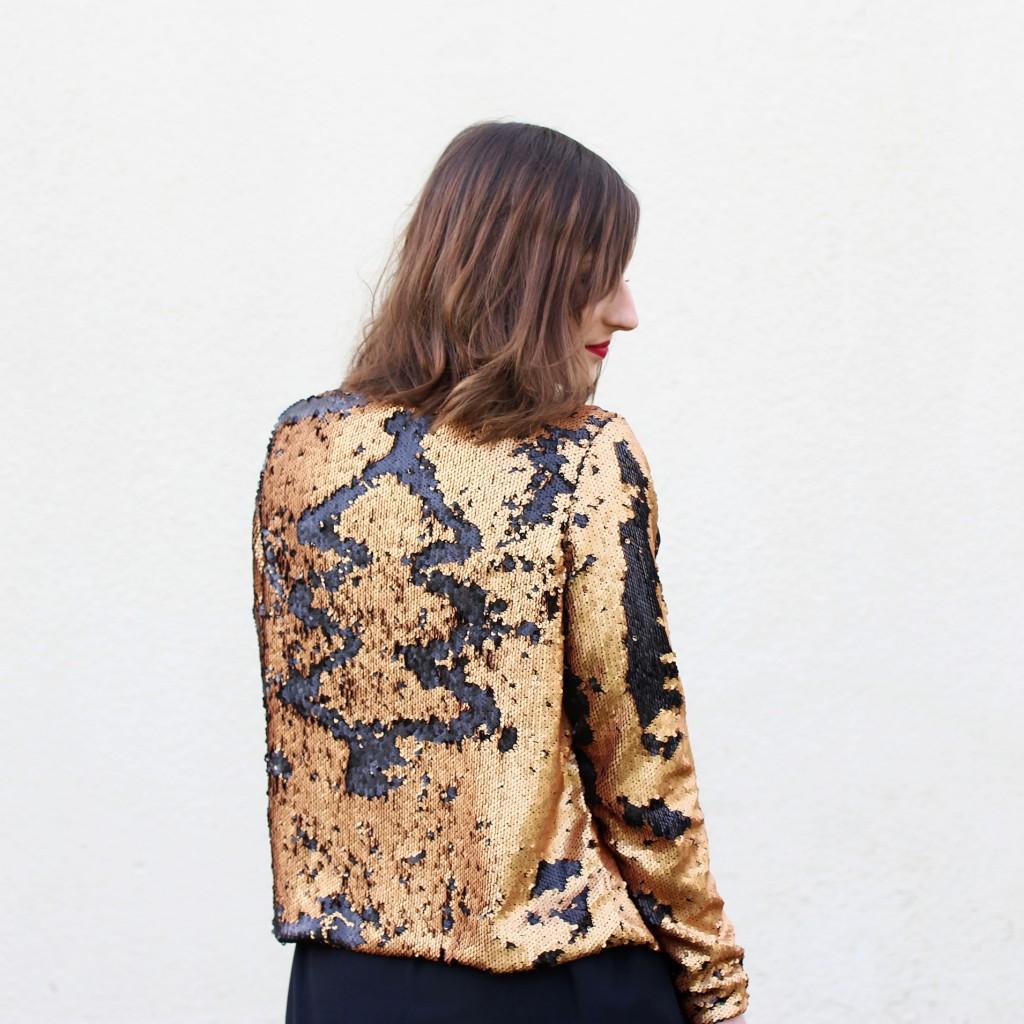 Huguette Paillettes - Couture - Veste - Sequins (9)