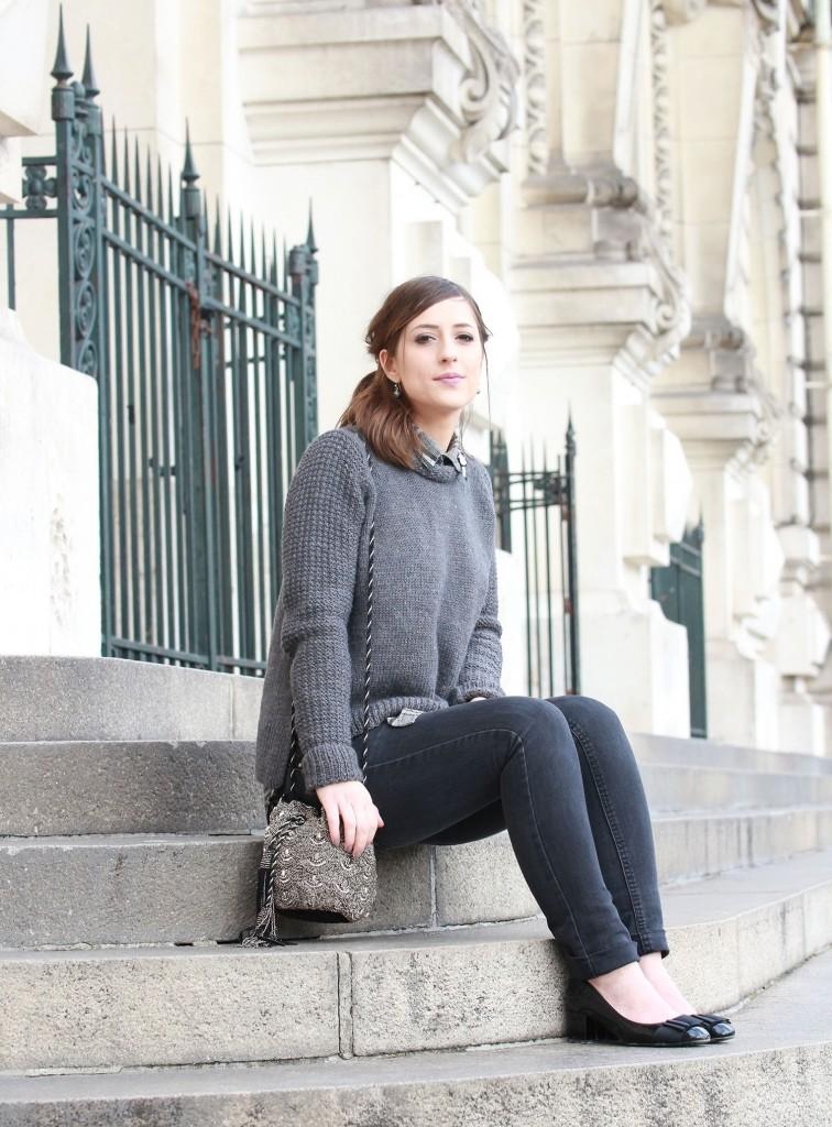 Huguette Paillettes - Tricot