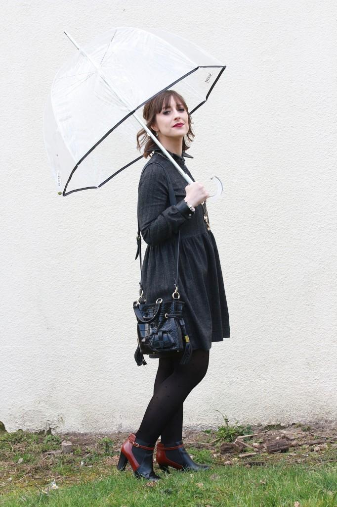Huguette Paillettes - Couture - Margot en robe (2)