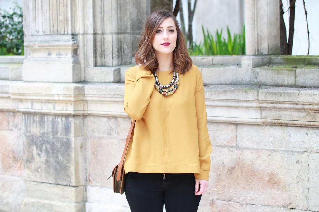Huguette Paillettes - Couture - Top Jaune (11)
