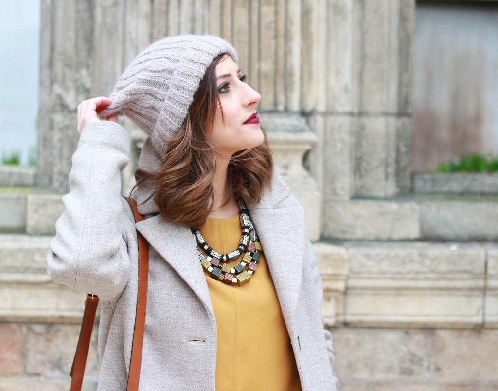 Huguette Paillettes - Couture - Top Jaune (4)