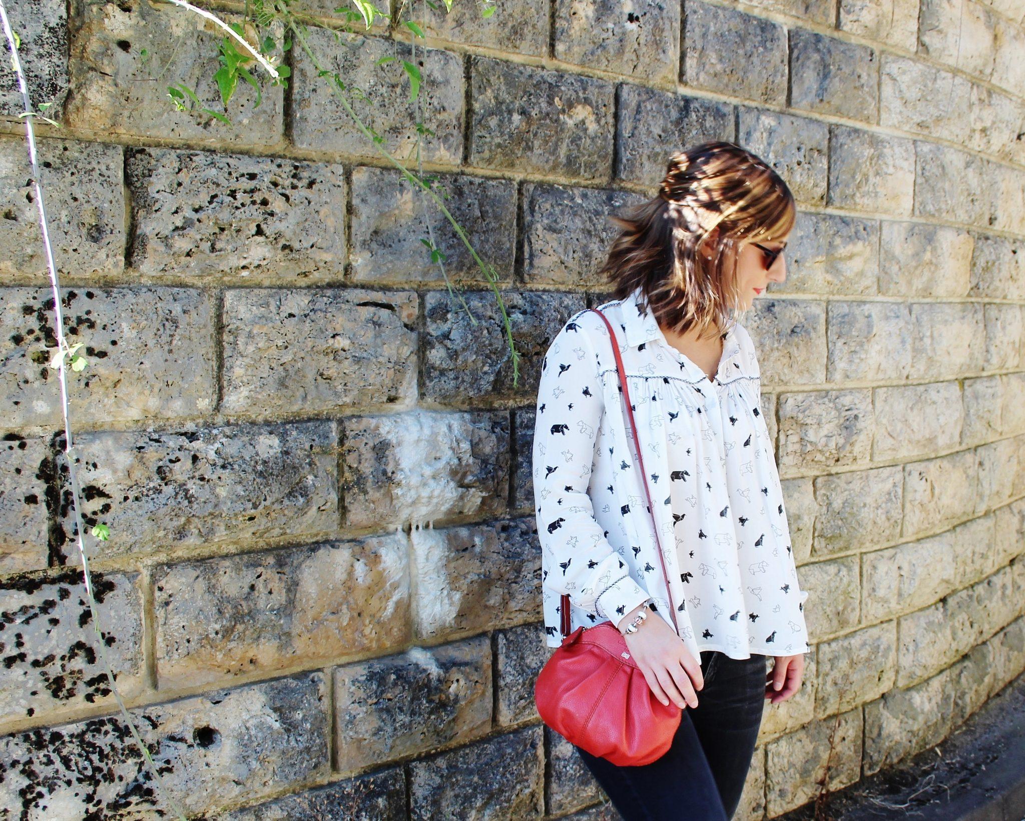 Huguette Paillettes - Couture - Chemise ample origami