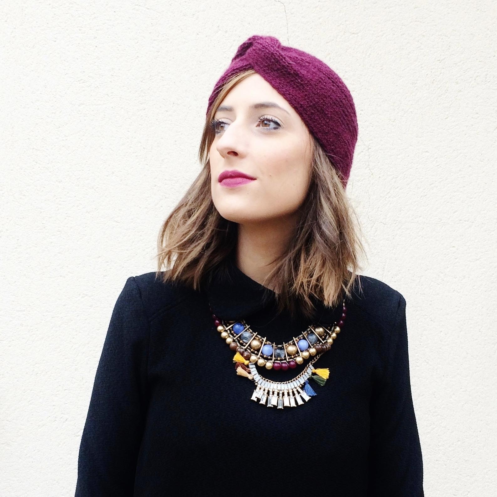 Mon Bonnet Turban Huguette Paillettes Blog Et Idées
