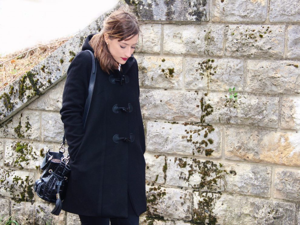 Huguette Paillettes - Couture Coralie Bijasson Manteau Nora Duffle Coat