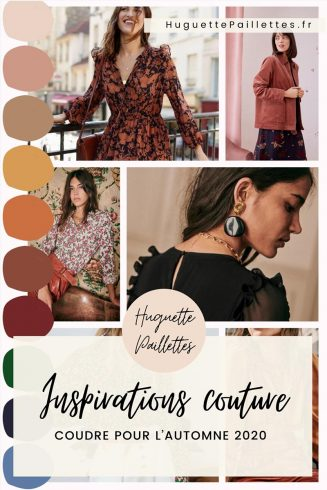 Épingle Pinterest : Inspirations couture automne 2020