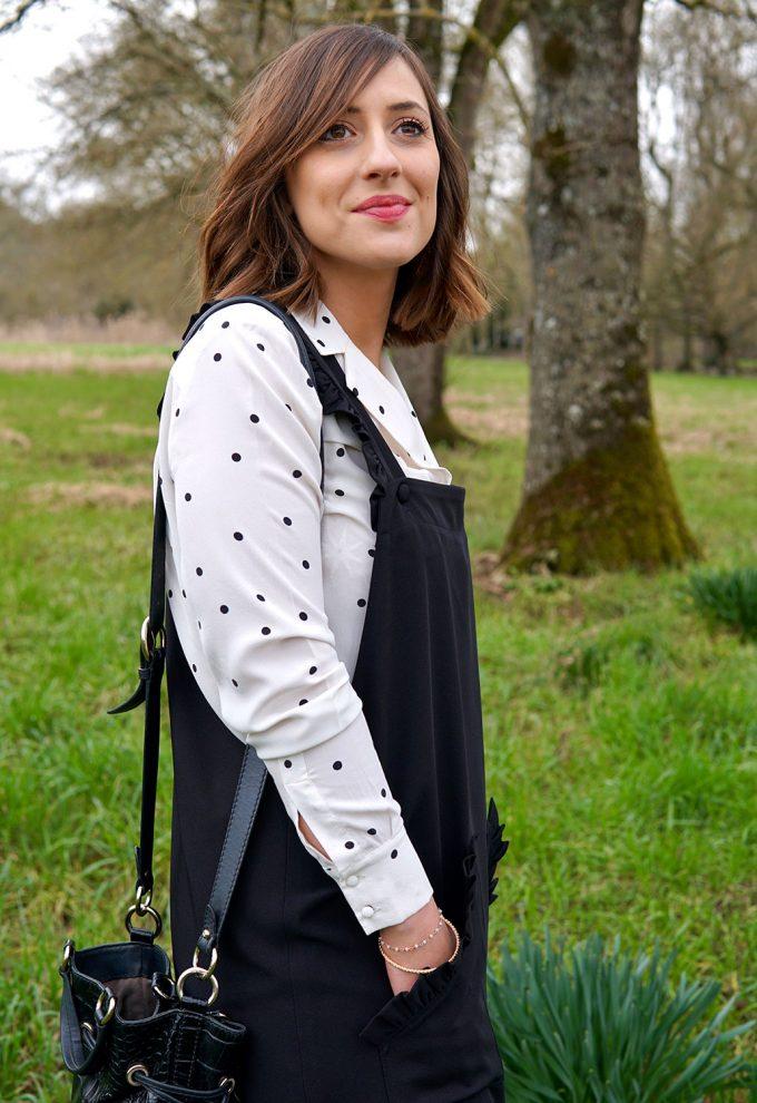 Couture Patron robe salopette Make It Yours Détails fronces