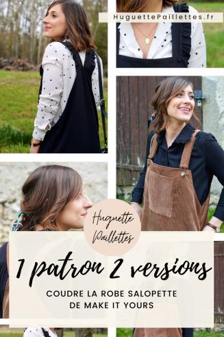 Couture Patron robe salopette Make It Yours épingle Pinterest